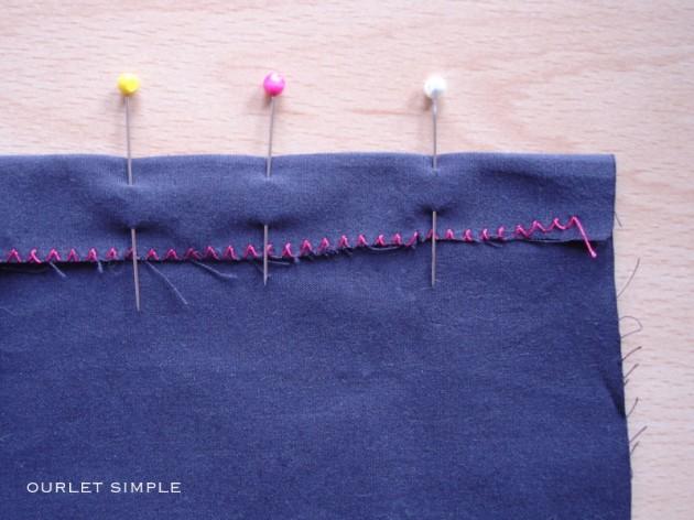 Thread needles la communaut couture for Couture a la main invisible